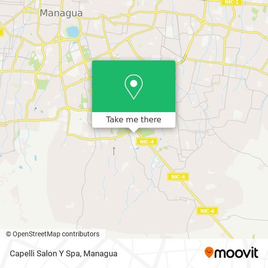 Capelli Salon Y Spa map