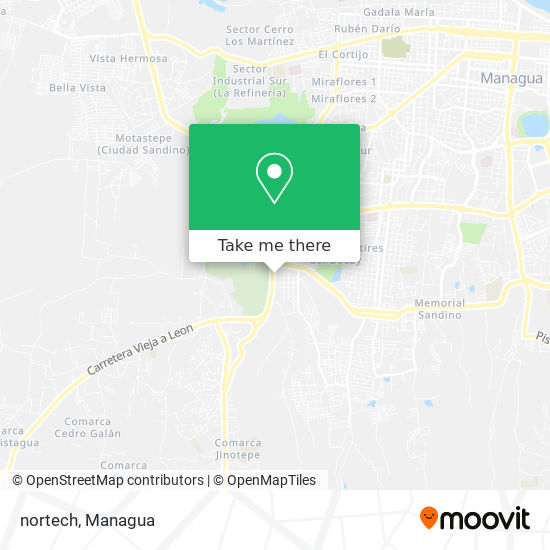 nortech map