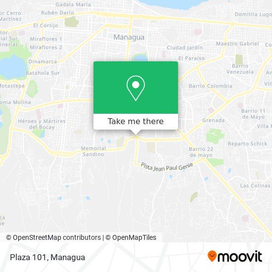 Plaza 101 map