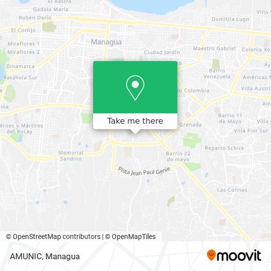 AMUNIC map