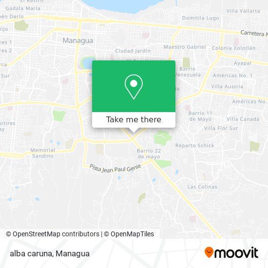 alba caruna map