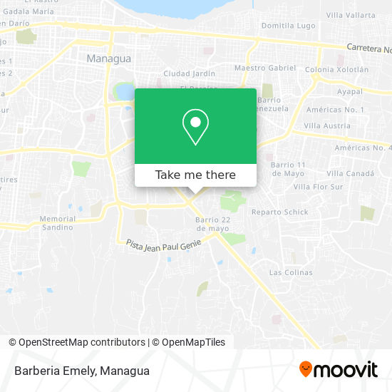 Barberia Emely map