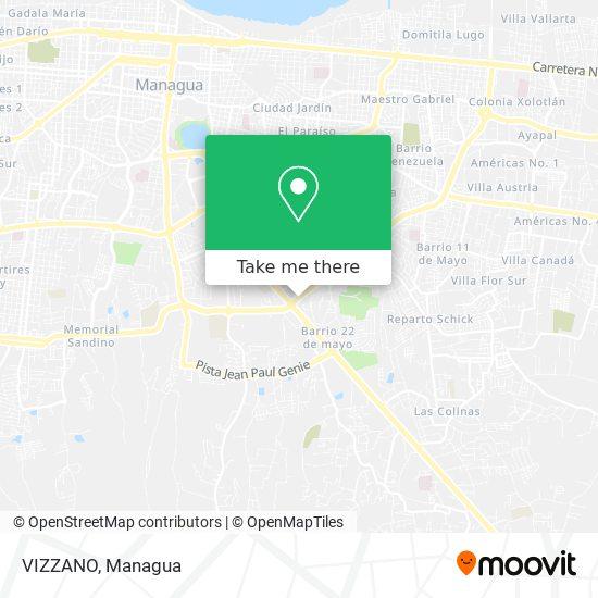 VIZZANO map