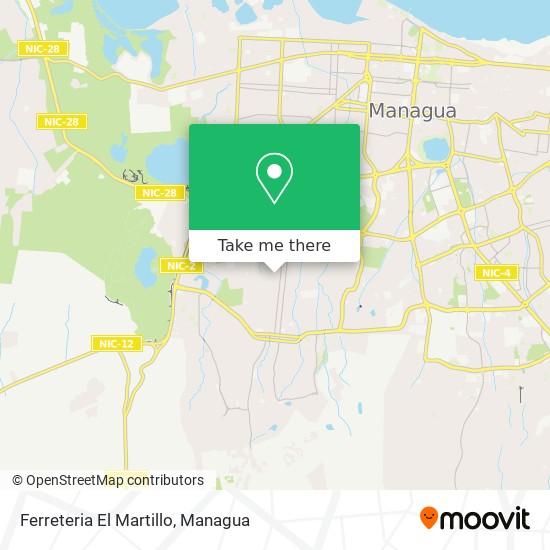 Ferreteria El Martillo map