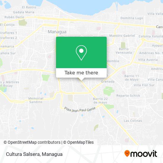 Cultura Salsera map