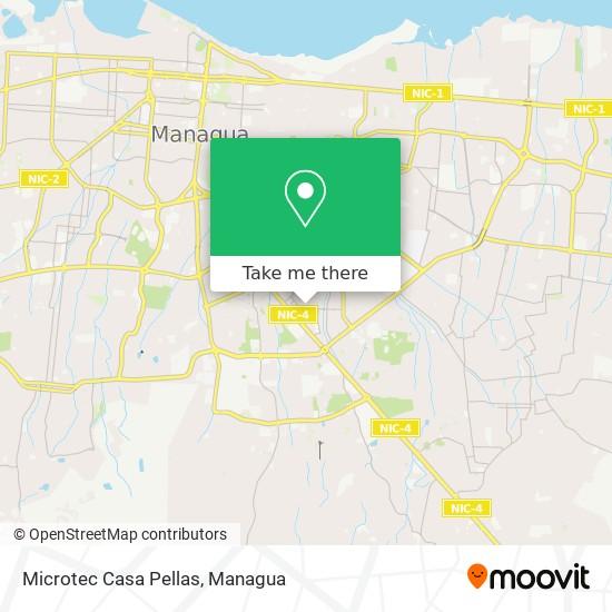 Microtec Casa Pellas map