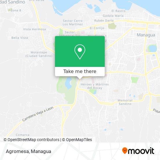 Agromesa map