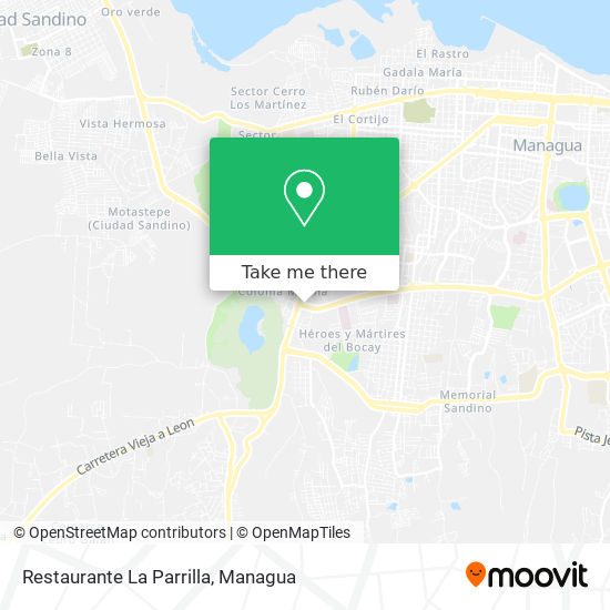 Restaurante La Parrilla map