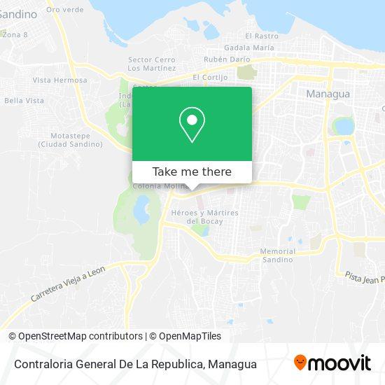Contraloria General De La Republica map