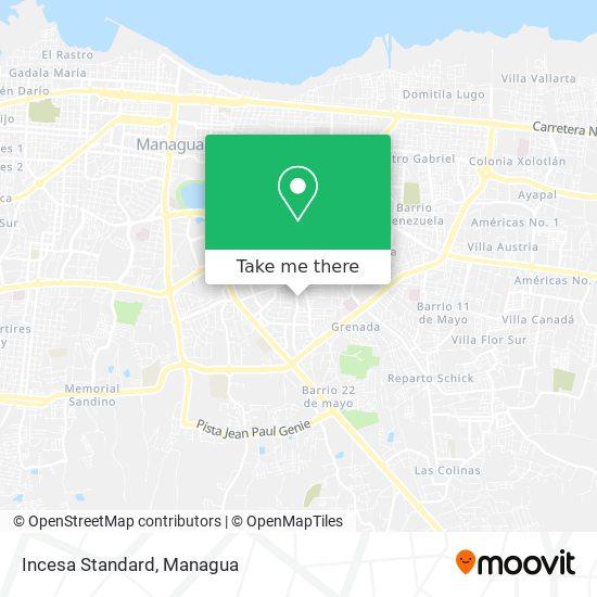 Incesa Standard map