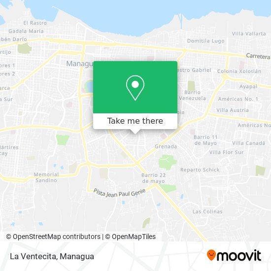 La Ventecita map