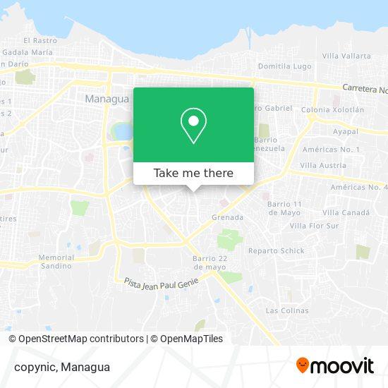 copynic map