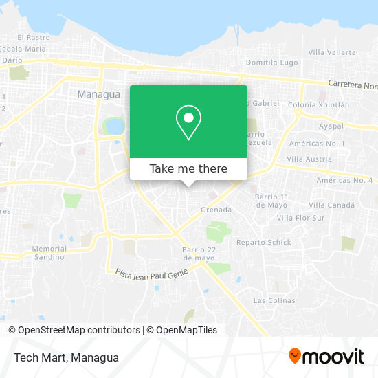 Tech Mart map