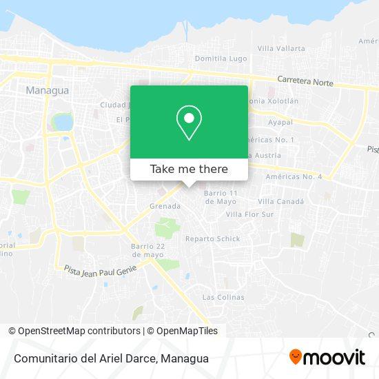 Comunitario del Ariel Darce map