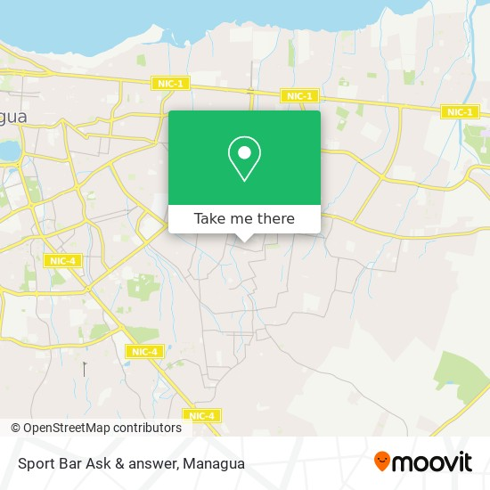 Sport Bar Ask & answer map