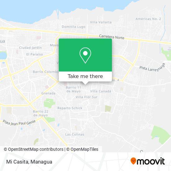 Mi Casita map