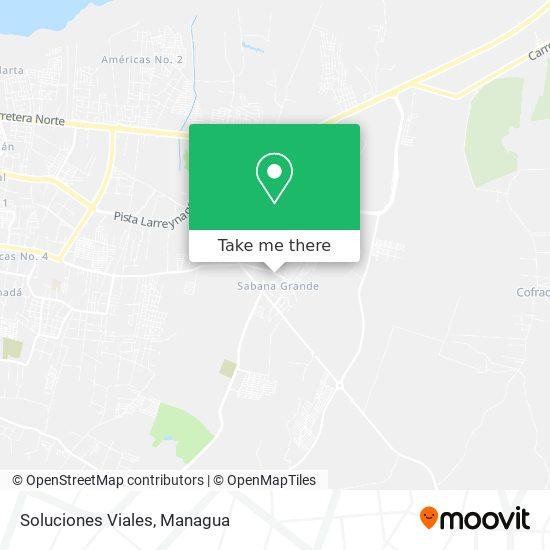 Soluciones Viales map