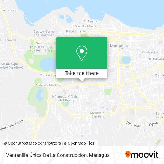 Ventanilla Única De La Construcción map