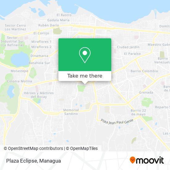 Plaza Eclipse map