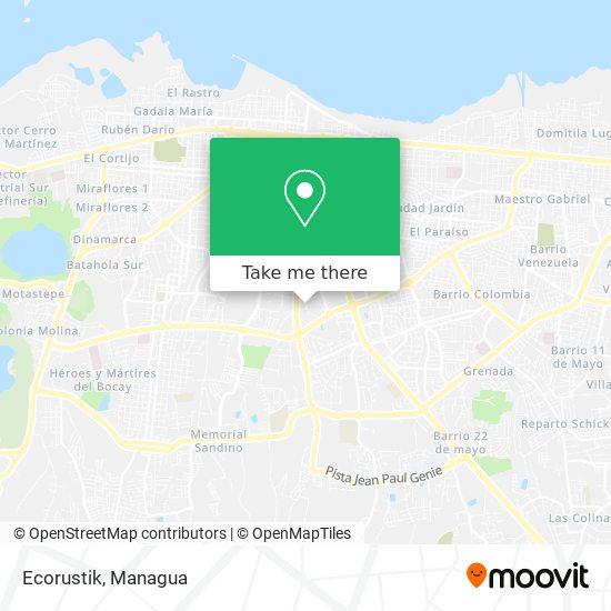 Ecorustik map
