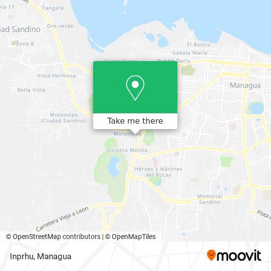 Inprhu map
