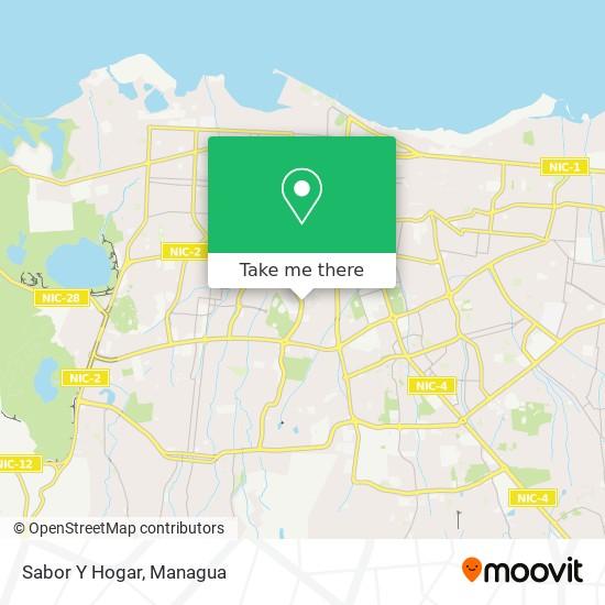 Sabor Y Hogar map