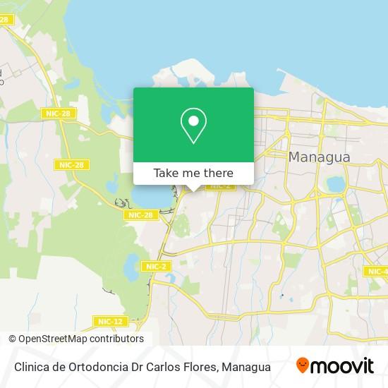 Clinica de Ortodoncia Dr Carlos Flores map