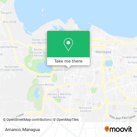 Amanco map