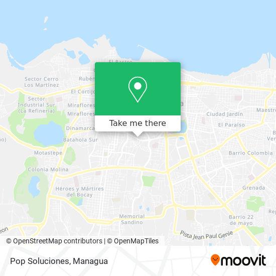 Pop  Soluciones map