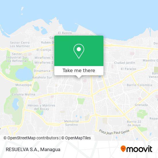 RESUELVA S.A. map