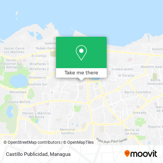 Castillo Publicidad map