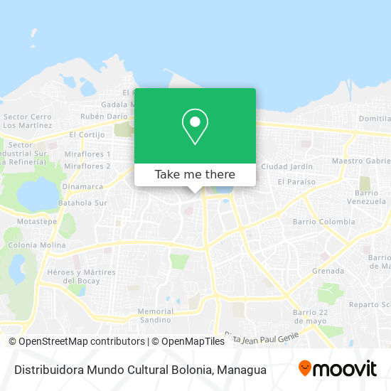 Distribuidora Mundo Cultural Bolonia map