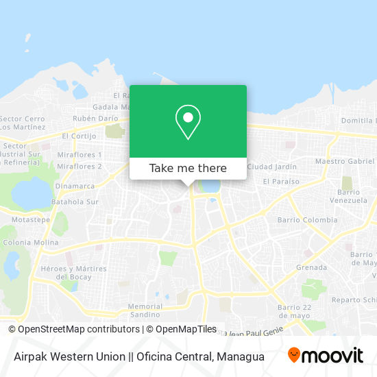 Airpak Western Union    Oficina Central map