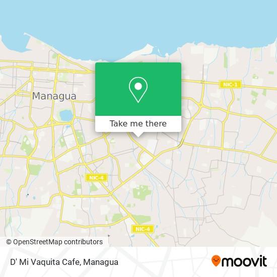 D' Mi Vaquita Cafe map
