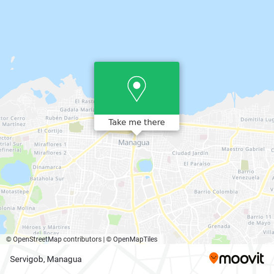 Servigob map