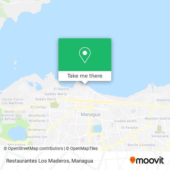 Restaurantes Los Maderos map