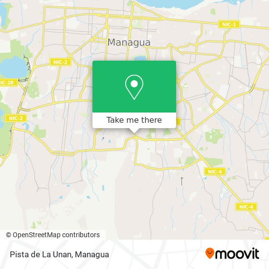 Pista de La Unan map
