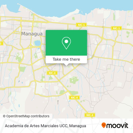 Academia de Artes Marciales UCC map