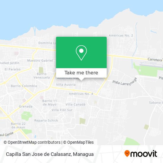 Capilla San Jose de Calasanz map