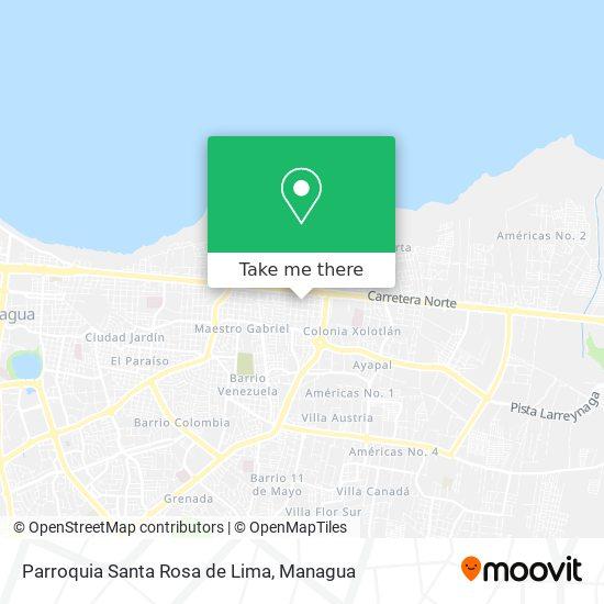 Parroquia Santa Rosa de Lima map
