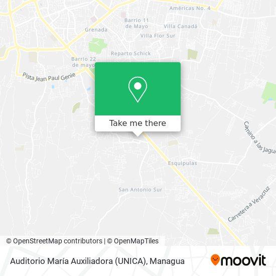 Auditorio María Auxiliadora (UNICA) map