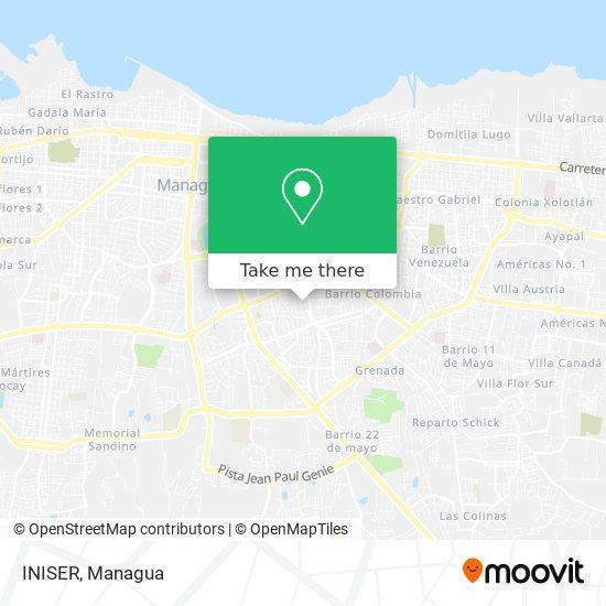 INISER map