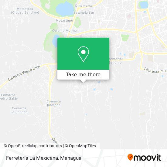 Ferretería La Mexicana map