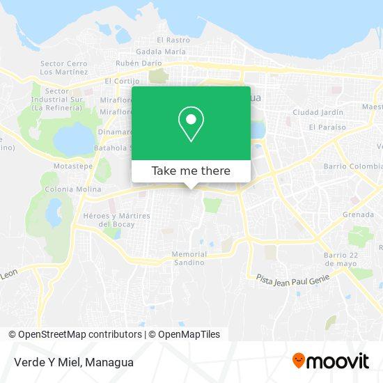 Verde Y Miel map