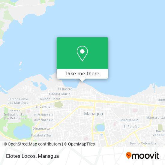 Elotes Locos map