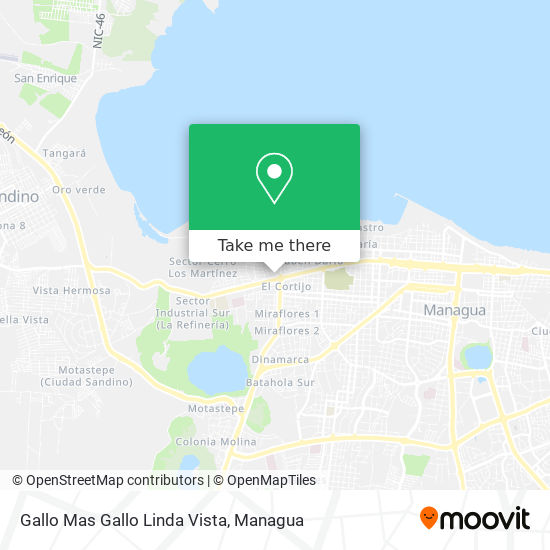 Gallo Mas Gallo Linda Vista map