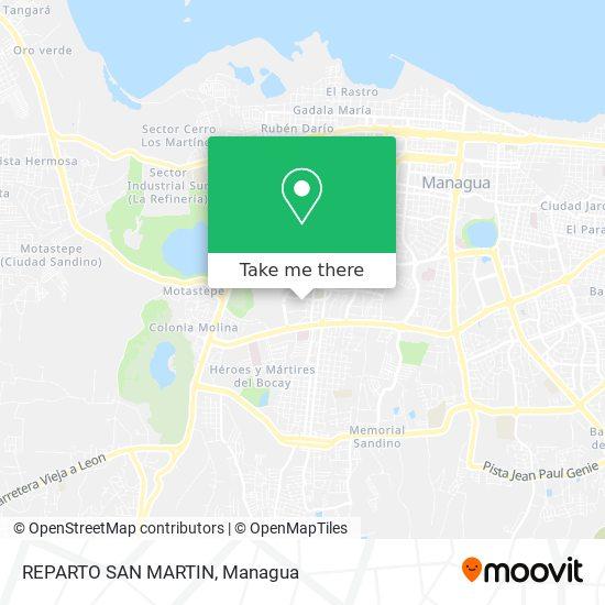 REPARTO SAN MARTIN map