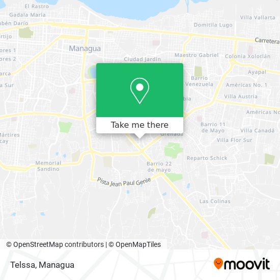 Telssa map