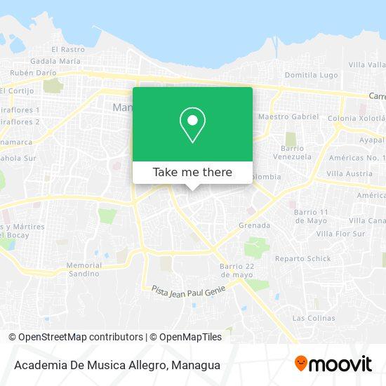 Academia De Musica Allegro map