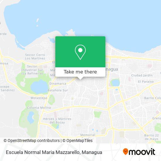 Escuela Normal Maria Mazzarello map